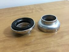 Vintage Shimano Dura Ace 7410 headset cups + bearings