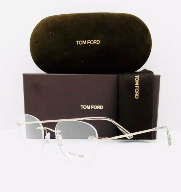 ac0f06b9beb Tom Ford Rimless Eyeglasses Tf5341 028 Size 49mm Rose Gold 5341 for ...
