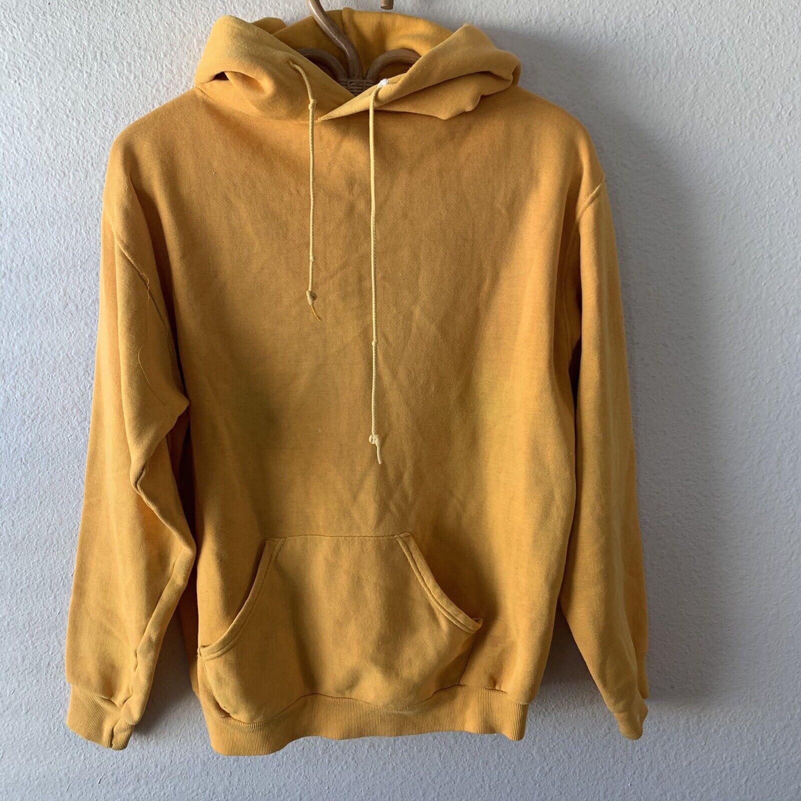 Vintage 70s Hoodie Sweatshirt Junior Olympics Rus… - image 2