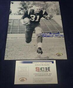 Don-Bosseler-Redskins-Signed-8-X-10-Photo-W-Redskins-1957-1964-SCH-Auth
