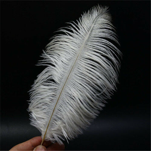 8Colors Ostrich Feather Fly Tying Material For Fly Fishing Lure Bait Making