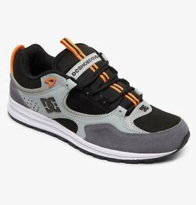 Scarpe-Uomo-Casual-Skate-DC-Shoes-Kalis-Lite-SE-Black-Orange-Schuhe-Chaussures