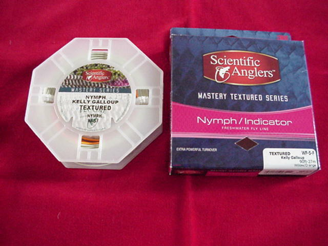 Scientific Angler Fly Line Mastery Texturot Nymph Indikator WF6F GREAT NEU