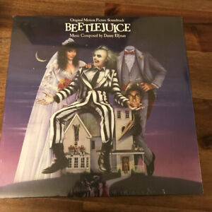 Beetlejuice OST 180G LP Danny Elfman Geffen UMe Reissue Belafonte B0022804-01
