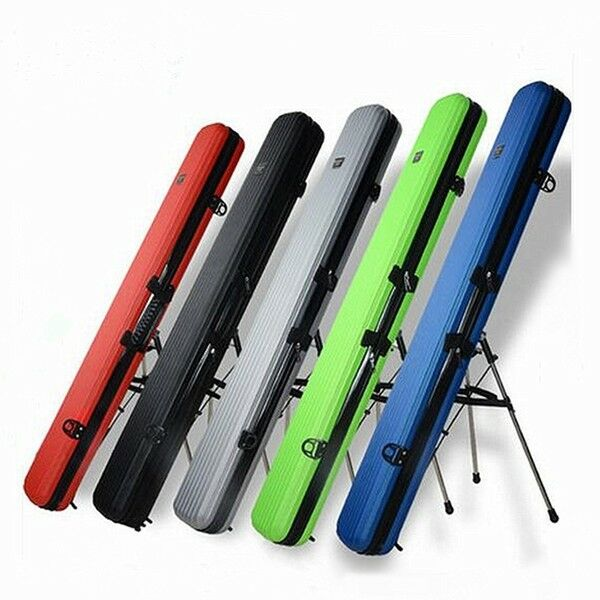 125CM REMOVABLE FISHING ROD TACKLE HARD ABS CASE BAG CARRY HOLDER LUGGAGE