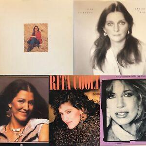 JUDY COLLINS / RITA COOLIDGE / CARLY SIMON - 5 LP Vinyl LOT