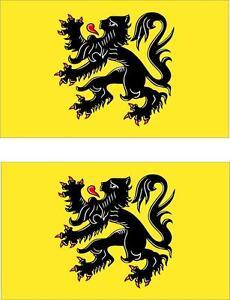 2x-Adhesivo-adesivi-pegatina-sticker-vinilo-bandera-belgica-flandes