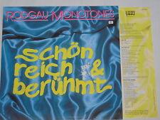 RODGAU MONOTONES -Schön, Reich & Berühmt- LP