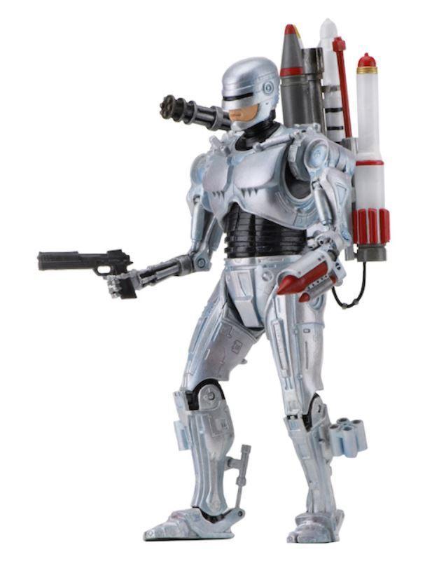 Robocop Vs The Terminator - Ultimate Future Robocop Figure - 7 Inch