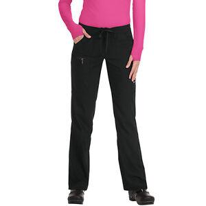 ea44d7fc7fe NWT KOI Lite Peace Women Black Cargo Scrub Pants Style 721-02 | eBay