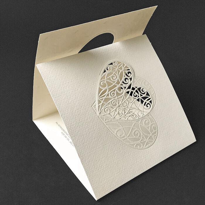 Einladungskarte für Hochzeit 7768 mit Umschlag    Hochzeitseinladungskarte   Hohe Qualität und günstig    Deutschland Shop    Feinbearbeitung  65058f