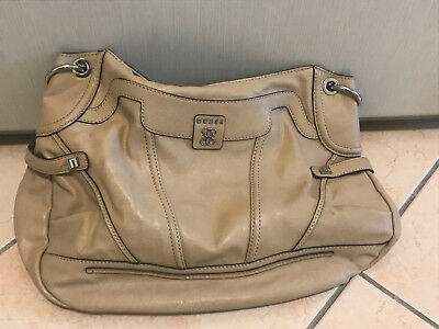 Dettagli su Guess Borsa Borsetta Bag donna woman beige multicolore multicolor interno