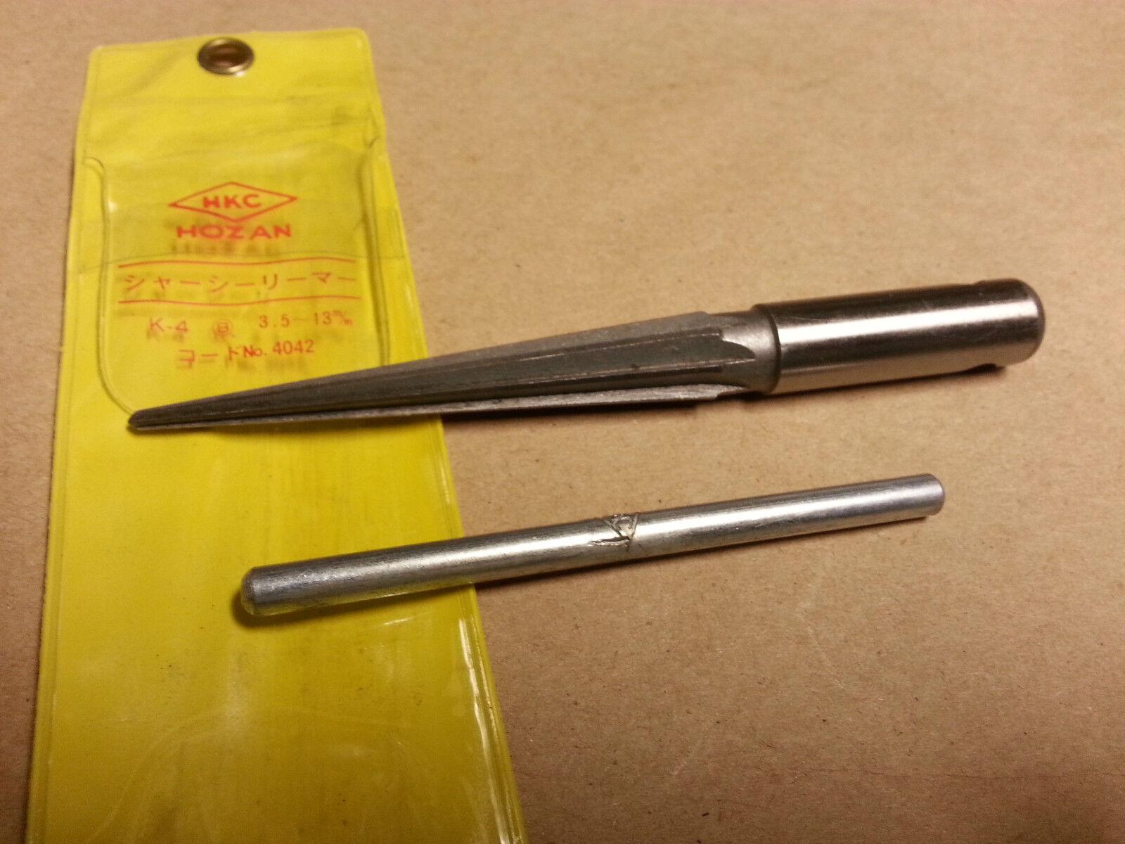 109S Hozan TapeROT reamer, 3.5-13mm, K-4 New