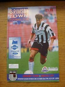 22101994 Grimsby Town v Bristol City  No Apparent Faults - <span itemprop=availableAtOrFrom>Birmingham, United Kingdom</span> - Returns accepted within 30 days after the item is delivered, if goods not as described. Buyer assumes responibilty for return proof of postage and costs. Most purchases from business s - Birmingham, United Kingdom