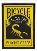 Bicycle Magic Makers Black Scorpion Deck Playing Cards Sealed Gaff 999685