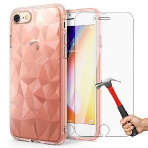 HYPER-Antichoc-Cristal-Coque-Housse-iPhone-X-8-7-6s-6-XR-XS-Max-Verre-trempe