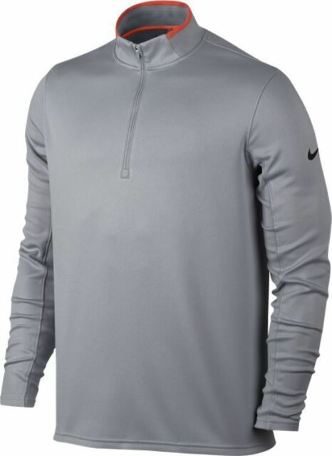 Men/'s Nike Dri-Fit Element 1//2 Zip Gray Grey Large L FREE SHIPPING