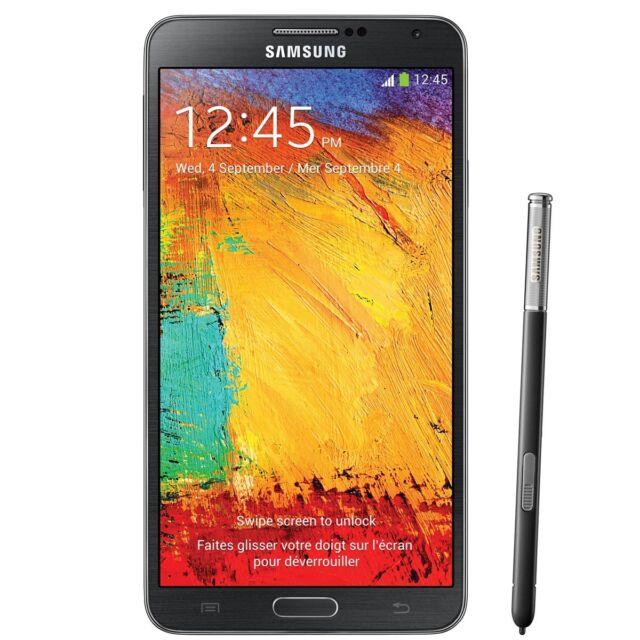 Samsung Galaxy Note 3 Sm N900v 32 Gb Black Verizon Smartphone For Sale Online Ebay