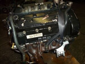 engine  lincoln continental  dohc vin  tested