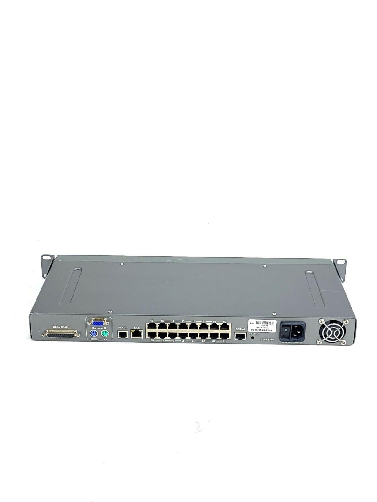 Belkin OmniView SMB 1x16 KVM-over-IP Switch   F1DP116G (plus 16 SMB modules)
