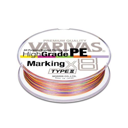 Varivas Hochgradig Pe Markierung Type-Ii X8 150m #0.8 16lb Multicolor Geflecht