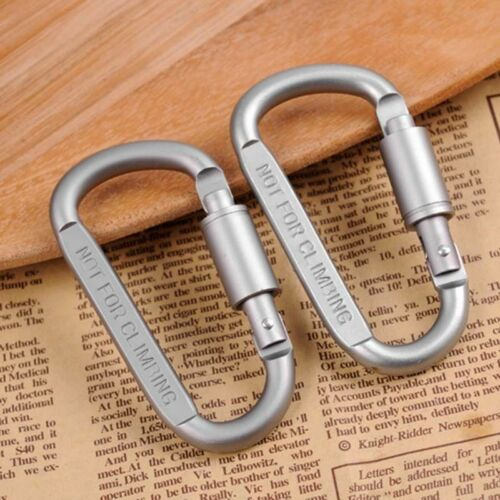 get 1 free Outdoor Sports Screw Lock Clip Hook Carabiner for Camping Buy 1