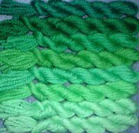 Paternayan Wool 3ply Persian Needlepoint Yarn Assortment 680 Peacock Green