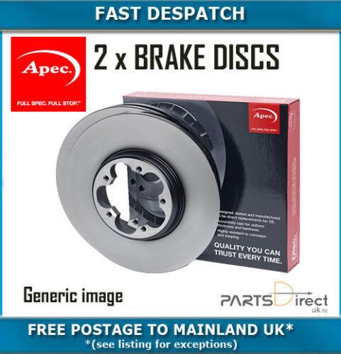 REAR BRAKE DISCS FOR MERCEDES-BENZ DSK2591