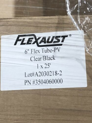 """In Open Box Slight Use. Leaf Vacuum FlexTube PV 6"""" X 25' Dust Collection"""