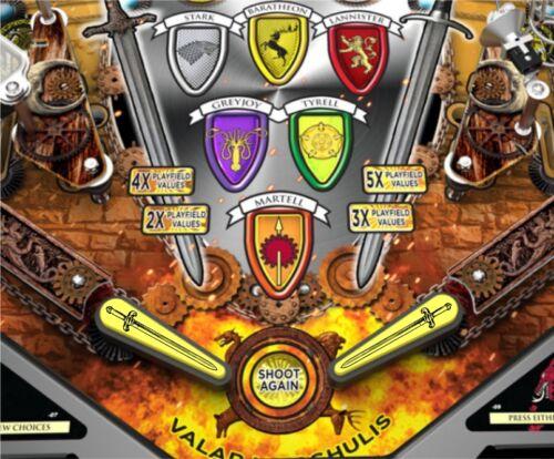 Swords MM Pinball Machine Flipper Bat Topper MOD for GoT and LOTR pinball