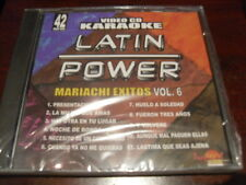LATIN POWER KARAOKE VCD DVD VCLP-042 MARIACHI EXITOS VOL 6 SEALED