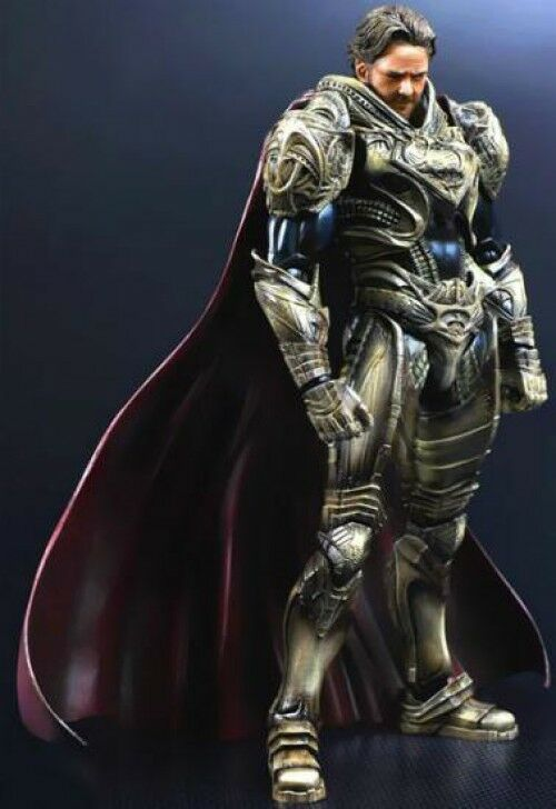 Superman Man of Steel Play Arts Kai Jor-El Action Figure