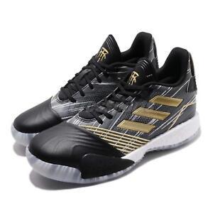 new products bc614 b0afb Image is loading adidas-T-Mac-Millennium-Tracy-McGrady-Black-Gold-