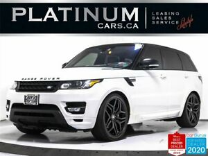 2016 Land Rover Range Rover Sport Autobiography, 510HP, V8, SUPERCHARGED, NAV, CAM