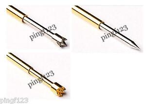 20 Spear Crown Chisel Spring Loaded Pogo Pin Jtag Ebay