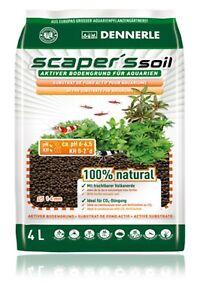 Original Dennerle Scaper's Soil 1-4 Mm Actif Sol Raison Pour Les Aquariums 4 L-afficher Le Titre D'origine Nous Prenons Les Clients Comme Nos Dieux