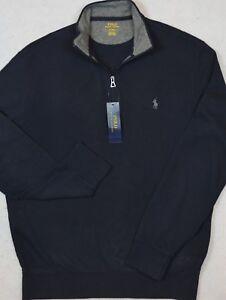 Polo Ralph Lauren Lightweight Jersey Pullover Half-Zip 2XB 2XLT 3XB NWT