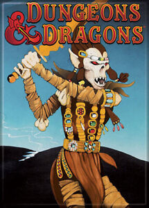 Dungeons and Dragons Fiend Folio 3.5 x 2.5 Magnet
