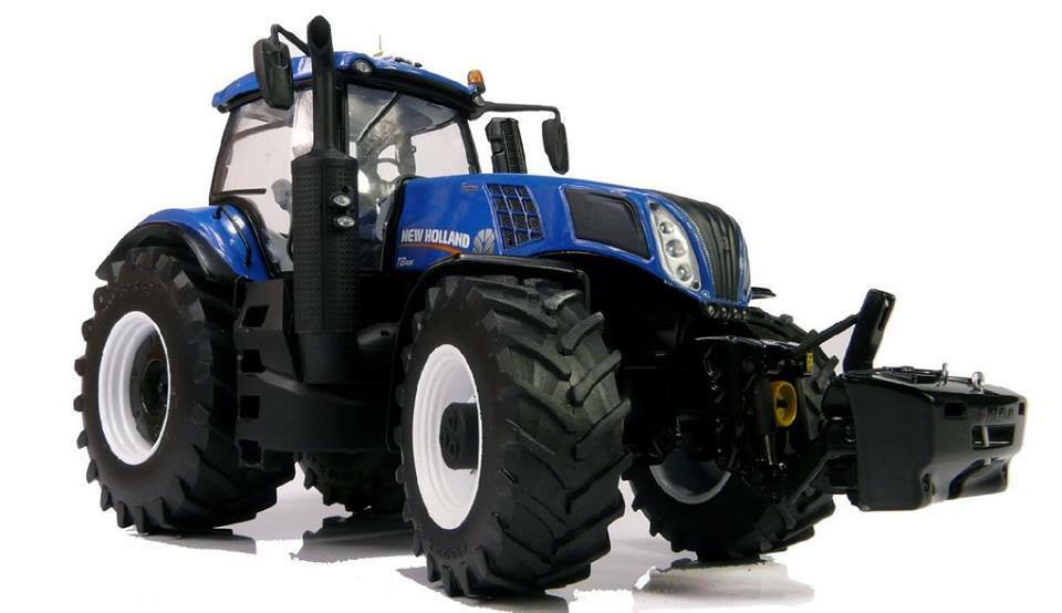 Mm 1704 marge MODELS NEW HOLLAND T8.435 Tracteur 1:32 SCALE BOXED | Art Exquis