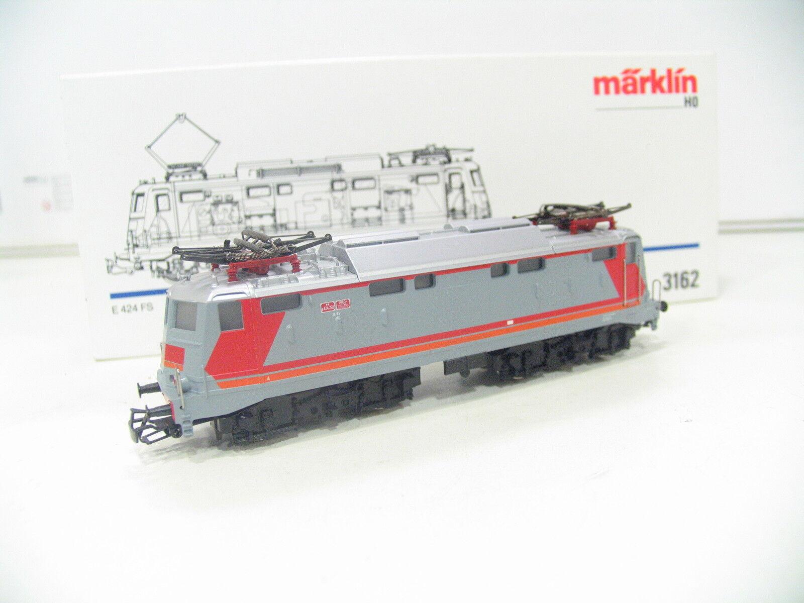 3162 E-Lok e 424 rosso/grigio delle FS jl540