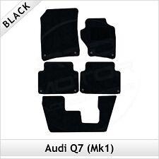 Audi Q7 Mk1 7-Seater 2006-2015 Tailored Fitted Carpet Car Floor Mats BLACK