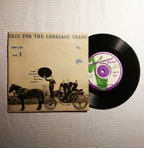PHIL-WOODS-DONALD-BYRD-Jazz-For-The-Carriage-Trade-1957-RARE-Sweden-45-PS