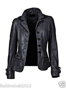 Women-039-s-Genuine-Lambskin-Leather-Jacket-Black-Slim-fit-Motorcycle-jacket-002