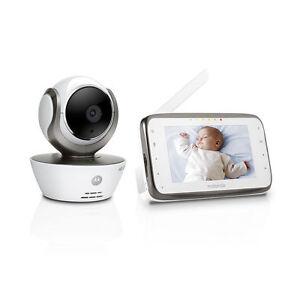 "MOTOROLA MBP854 WI-FI HD Video Baby Monitor IDigital 4.3"" Touch Screen"