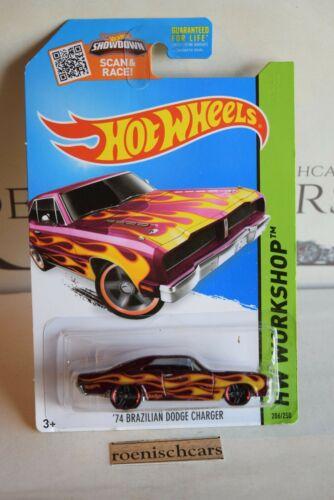Hot Wheels 74 Brazilian Dodge Charger 2015 Serie Ovp