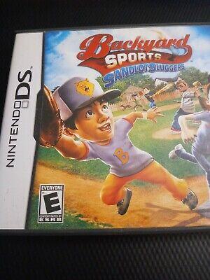 Backyard Sports: Sandlot Sluggers (Nintendo DS, 2010 ...