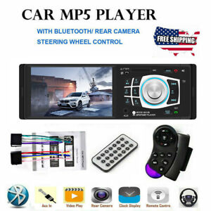 4-1-034-HD-Single-1DIN-Car-Stereo-Video-MP5-Player-Bluetooth-FM-Radio-AUX-USB-SD-TF