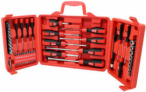 60pc-Combination-Screwdriver-Set-Storage-Case-Hex-Skank-Pozi-Spanner-Socket-Flat