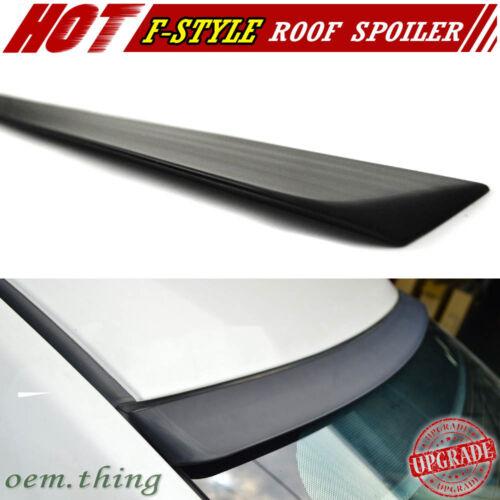 UNPAINTED For INFINITI Q50 V37 Sedan Window Sport Roof Spoiler 2015 F-Style New