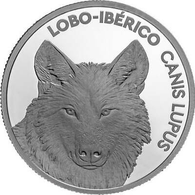 The Iberian Wolf #RM# 5 EURO COMMEMORATIVE PORTUGAL 2019